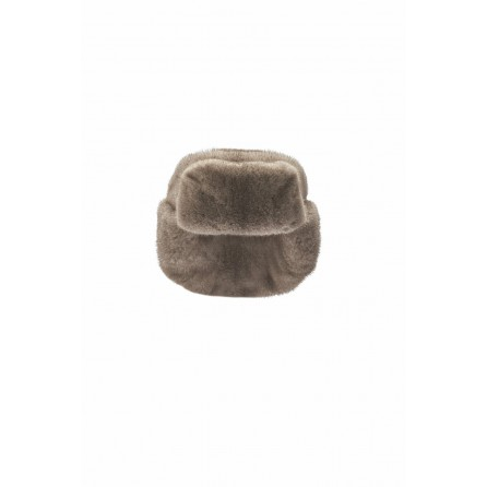 Grey Rabbitfur Ushanka